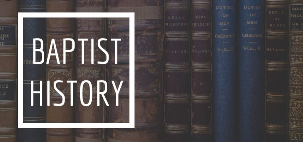 The History of The Baptist Religion